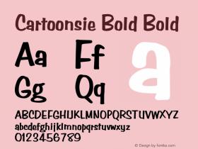 Cartoonsie Bold