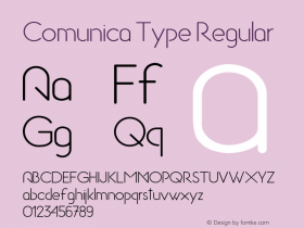 Comunica Type