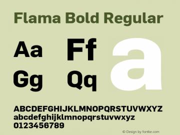 Flama Bold