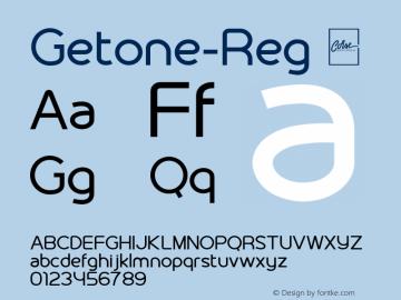 Getone-Reg