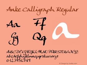 Anke Calligraph