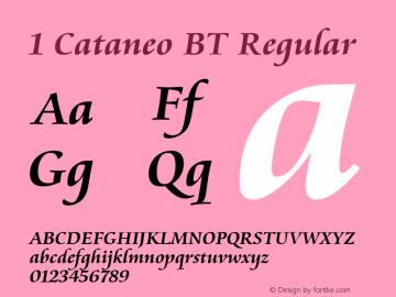 1 Cataneo BT