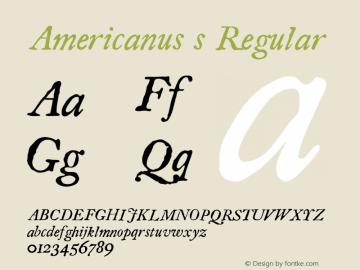 Americanus s