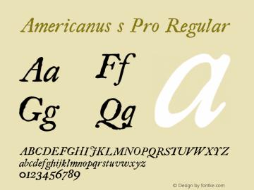 Americanus s Pro