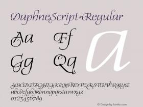 DaphneScript-Regular
