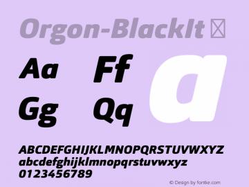 Orgon-BlackIt