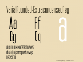 VarialRounded-ExtracondensedReg
