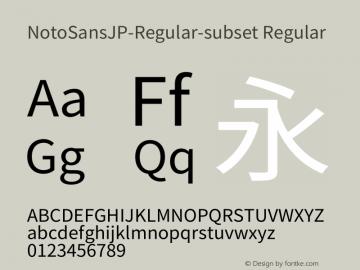 NotoSansJP-Regular-subset