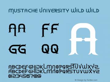 Mustache University Wild