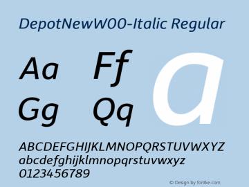 DepotNew-Italic