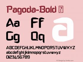 Pagoda-Bold