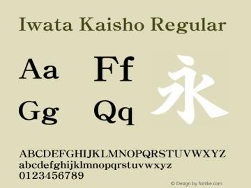Iwata Kaisho