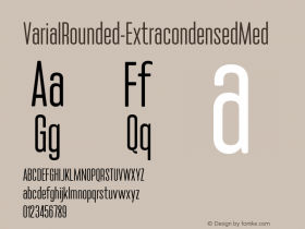 VarialRounded-ExtracondensedMed