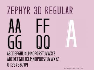 Zephyr 3D
