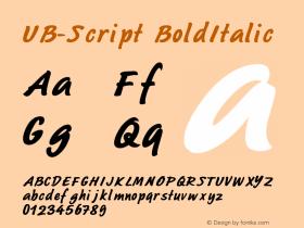 UB-Script