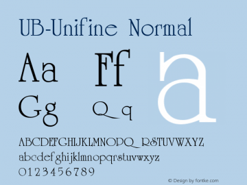 UB-Unifine