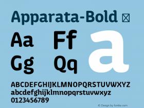 Apparata-Bold