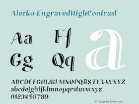 Alecko-EngravedHighContrast