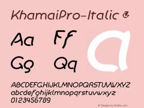 KhamaiPro-Italic