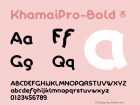 KhamaiPro-Bold