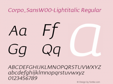 Corpo_Sans-Lightitalic