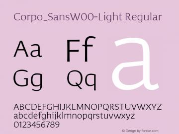 Corpo_Sans-Light
