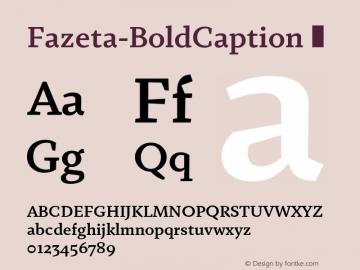 Fazeta-BoldCaption