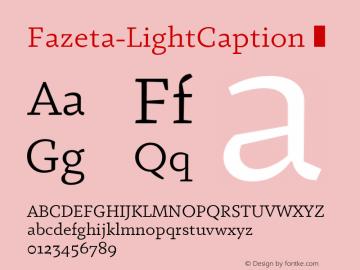 Fazeta-LightCaption