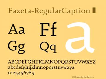 Fazeta-RegularCaption