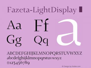 Fazeta-LightDisplay