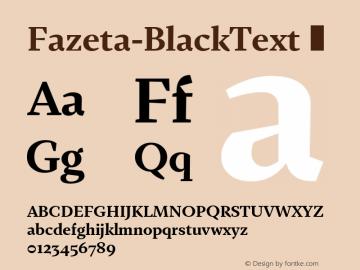 Fazeta-BlackText