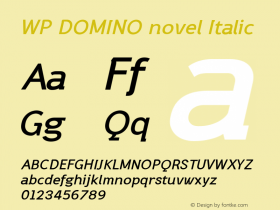 WP DOMINO novel