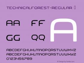 TechnicalForest-Regular