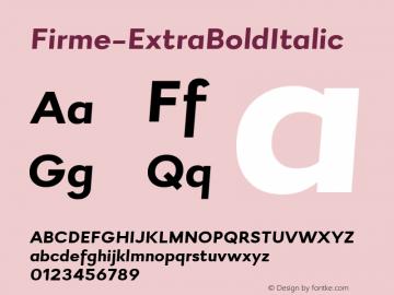 Firme-ExtraBoldItalic