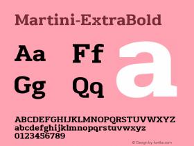 Martini-ExtraBold
