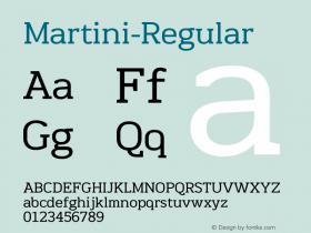 Martini-Regular