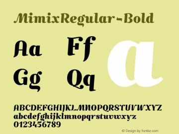 MimixRegular-Bold