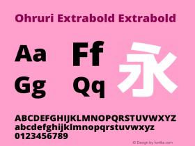 Ohruri Extrabold