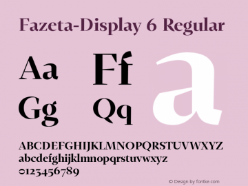 Fazeta-Display 6