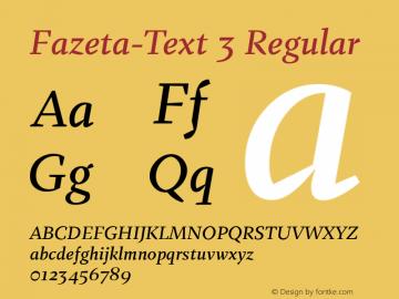 Fazeta-Text 3