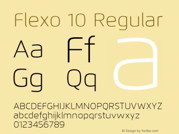 Flexo 10