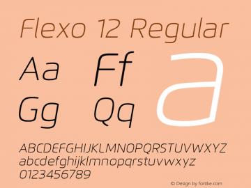 Flexo 12