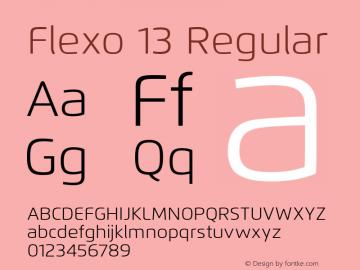 Flexo 13