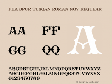 FHA Spur Tuscan Roman NCV