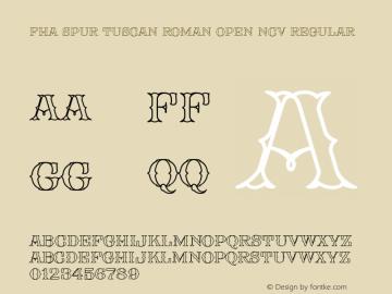 FHA Spur Tuscan Roman Open NCV