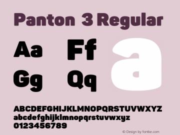 Panton 3