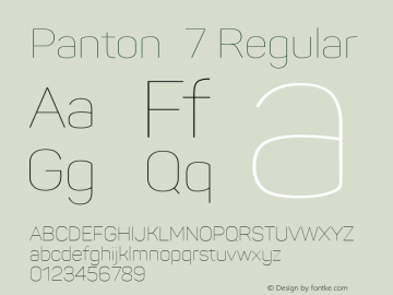 Panton 7