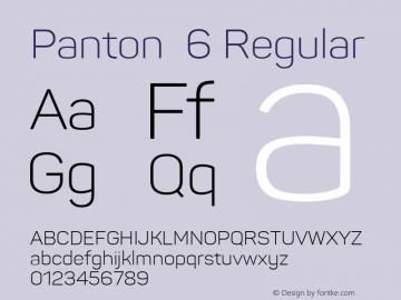 Panton 6