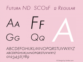 Futura ND SCOsF 2