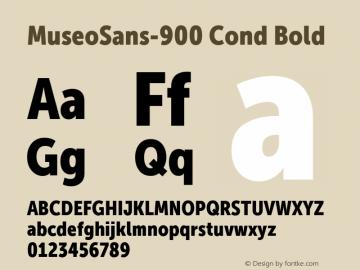 MuseoSans-900 Cond